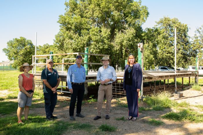 $402,450 GRANT TO CONSTRUCT NEW PAVILION AT MOREE SHOWGROUND