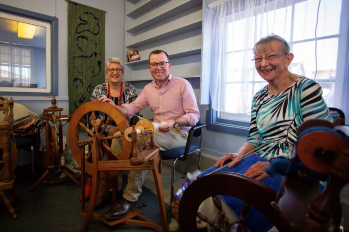 ARMIDALE SPINNERS AND WEAVERS HAVE A BRAND NEW SPACE TO 'YARN'