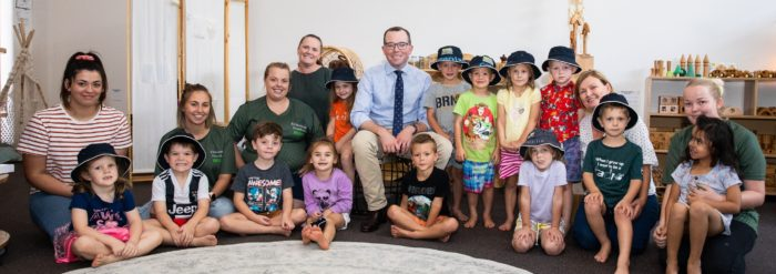 KINDAMINDI PRESCHOOL EXTENSION RESULTS IN EXTRA STUDENTS & STAFF