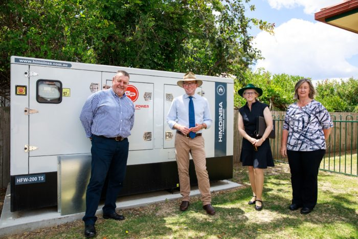 $100,000 GENERATOR KEEPS THE LIGHTS ON AT URALLA'S MCMAUGH GARDENS