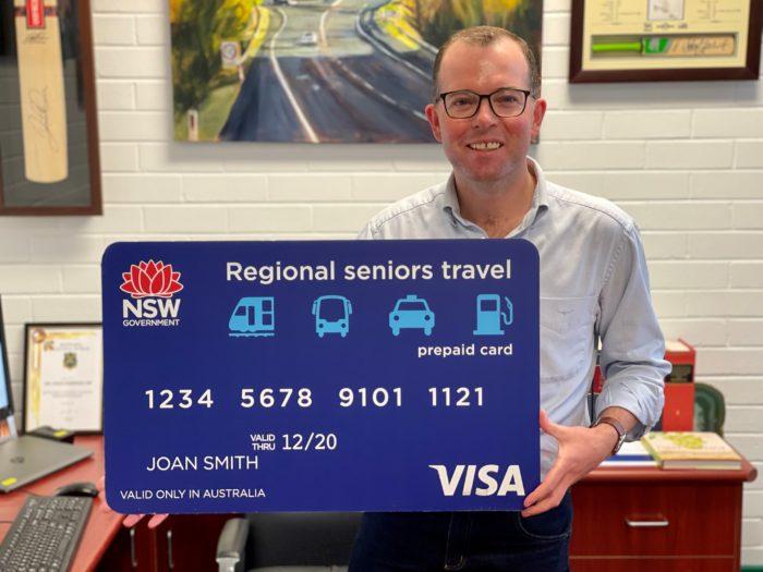 MAJOR TAKE-UP MILESTONE FOR SENIORS TRAVEL CARD IN THE REGION