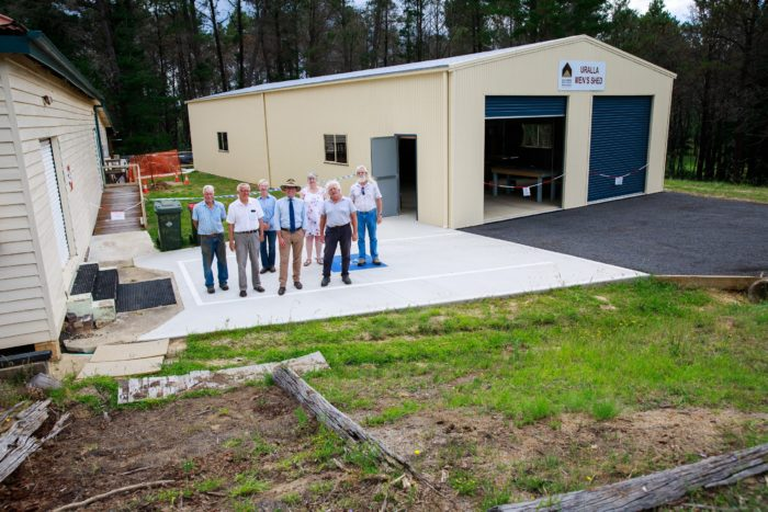 URALLA MEN'S SHED SECURES $32,000 FUNDING FOR IMPROVED ACCESS