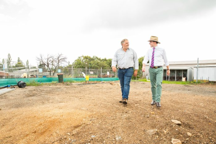 FIRST MILESTONE CLEARED ON NEW BACKTRACK YOUTH SERVICE FACILITY