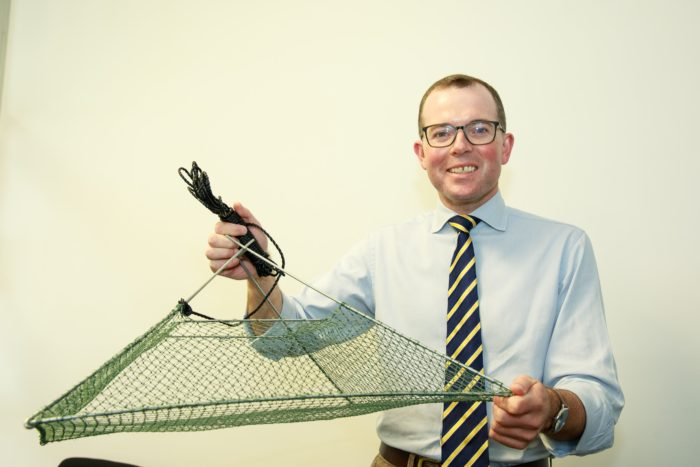 FISHERS CAN SNAG FREE YABBY TRAPS TO HELP PROTECT NATIVE WILDLIFE