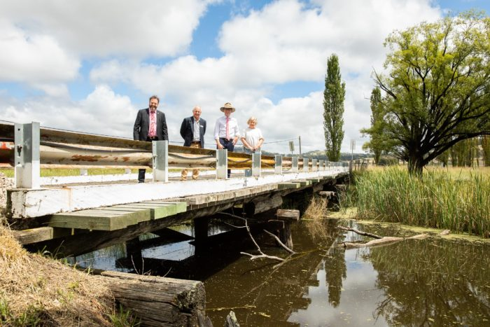 $1 MILLION SECURED FOR NEW BRIDGE OVER FURRACABAD CREEK