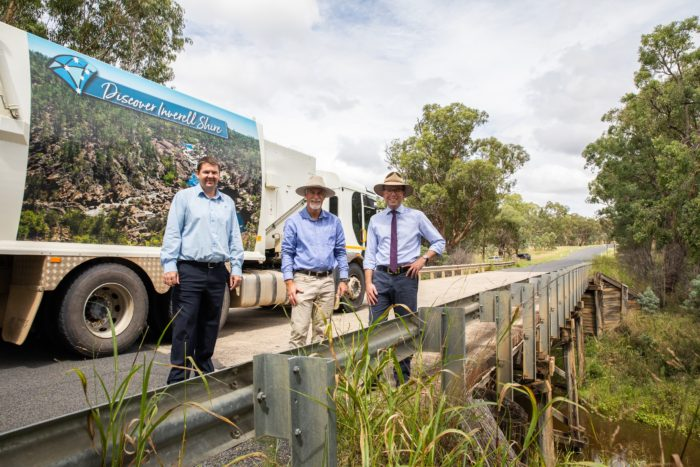 LAST TIMBER BRIDGE IN THE INVERELL SHIRE TO BE REPLACED