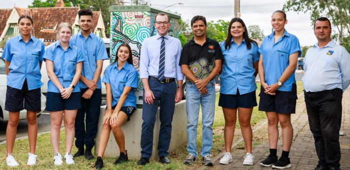 MOREE YOUTH TAKE THE LEAD ON COMMUNITY EVENTS USING GRANT