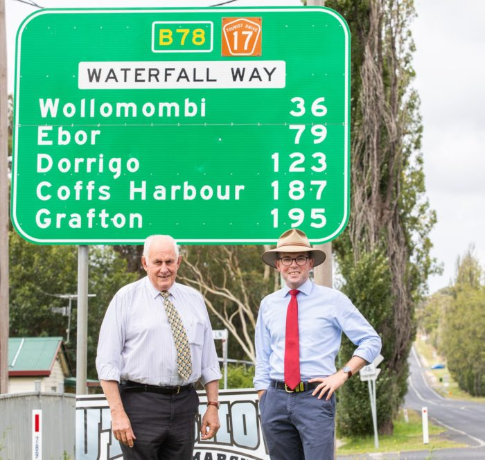 $8 MILLION UPGRADES FOR WATERFALL WAY BETWEEN ARMIDALE AND EBOR