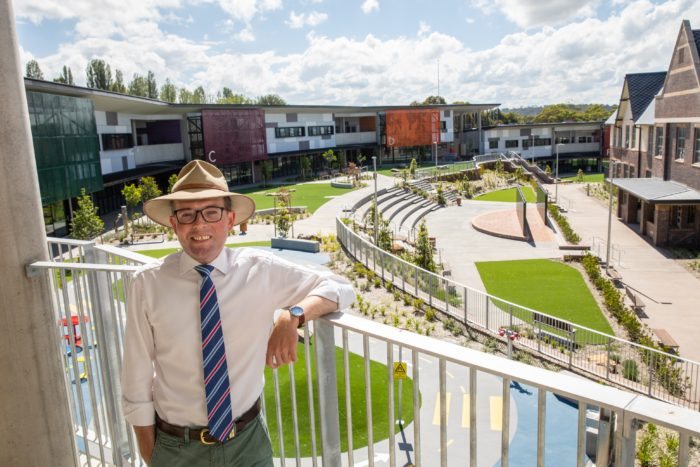 COMMUNITY INVITED TO WALK THROUGH NEW ARMIDALE SECONDARY COLLEGE