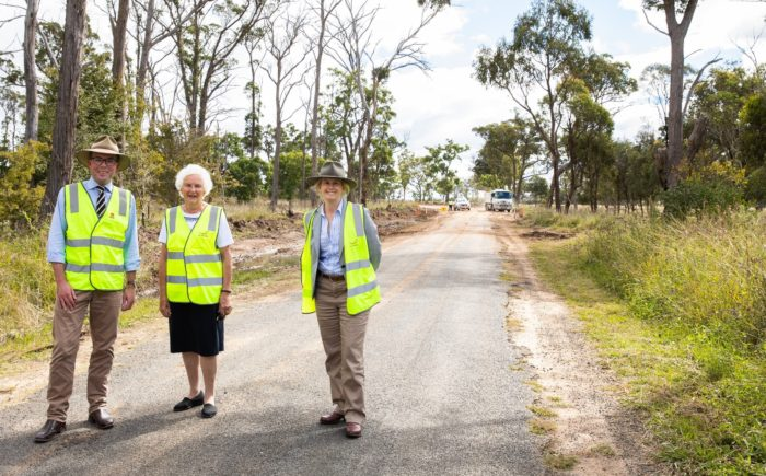 $875,000 TO COMPLETE UPGRADE OF HAWTHORNE DRIVE NEAR URALLA