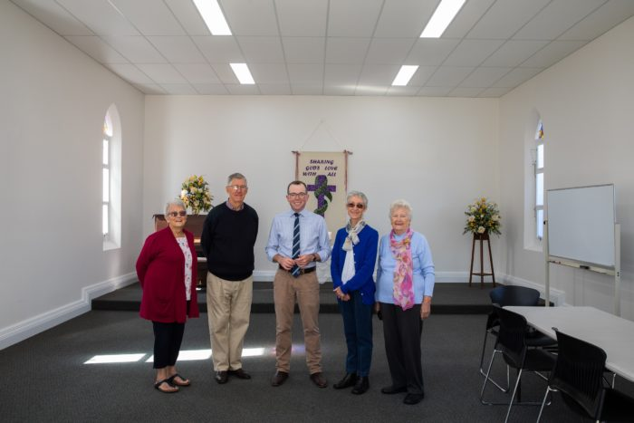 HISTORIC INVERELL UNITING CHURCH CHAPEL RESURRECTED AT EASTER
