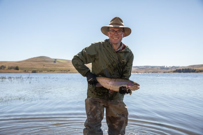 FISHERS INVITED TO REEL IN ONE OF 1,200 PRIZE-WINNING RAINBOW TROUT