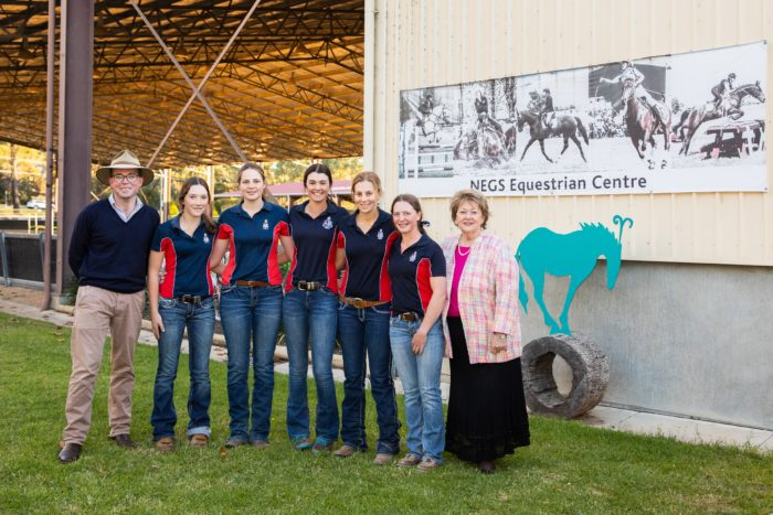 $7,000 PROVIDES A GEE-UP FOR NEGS POLOCROSSE TEAM
