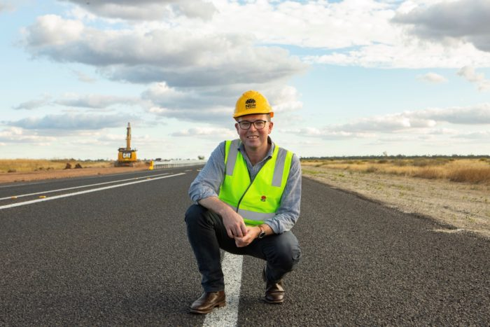 $1.3M NEW ENGLAND HIGHWAY SAFETY PROJECT STARTS NORTH OF GUYRA