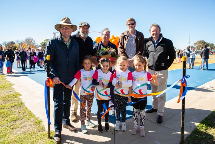 $600,000 LYNCHES ROAD NETBALL COURT REDEVELOPMENT OPENED