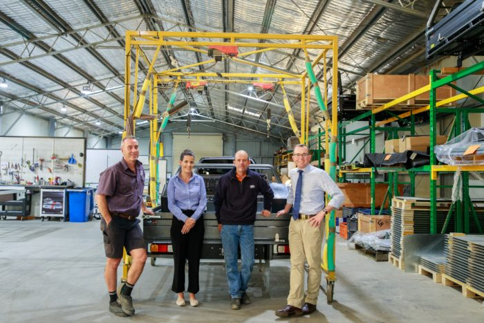 $600,000 BOLTS DOWN 30 NEW JOBS AT INVERELL'S BOSS ENGINEERING