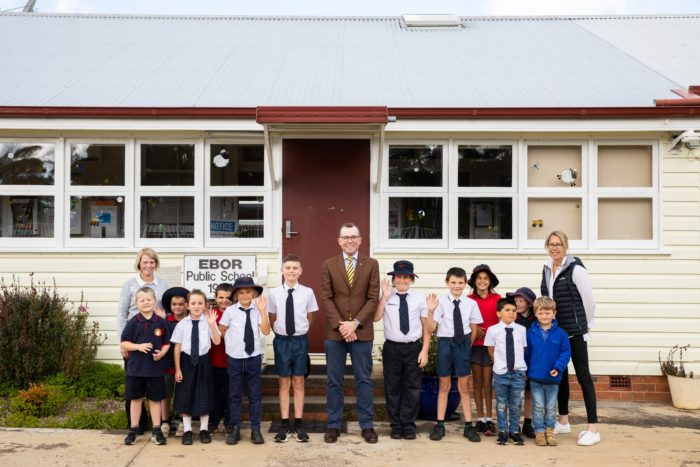 $90,000 TO CREATE NEW ALL-WEATHER AREA AT EBOR PUBLIC SCHOOL