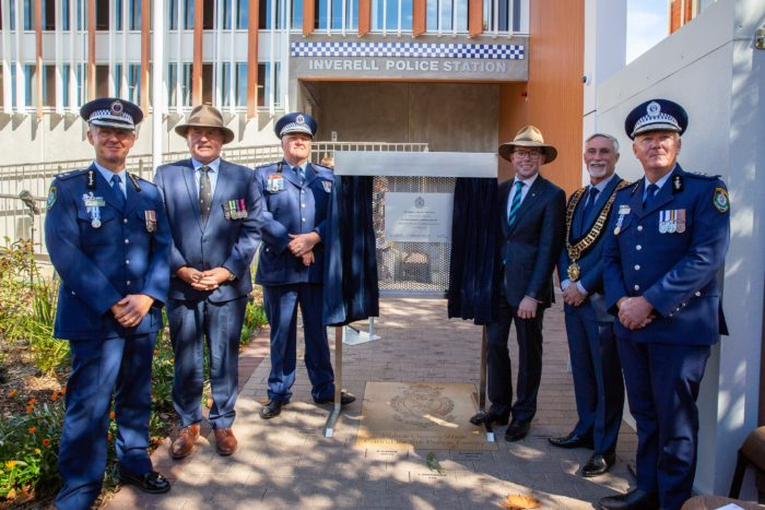 NEW ERA 'MARCHES IN' WITH OPENING OF NEW INVERELL POLICE STATION