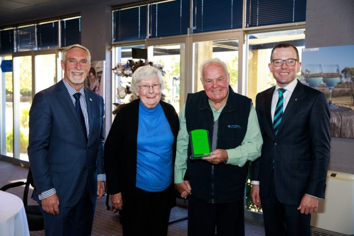 KING & QUEEN OF NEWELL HIGHWAY CROWNED WITH LIFE MEMBERSHIP