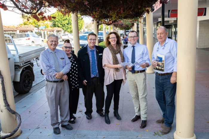 A COOL $1 MILLION TO TAKE THE HEAT OUT OF MOREE'S CBD
