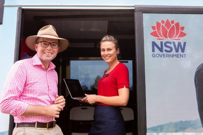 SERVICE NSW VISITING DEEPWATER AND ASHFORD NEXT WEEK
