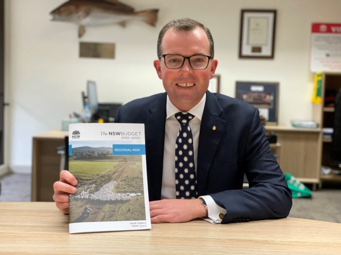 RECORD $349.5 MILLION INVESTMENT IN THE NORTHERN TABLELANDS: BUDGET
