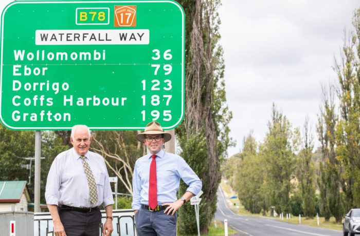 ANOTHER $6.5 MILLION UPGRADE FOR WATERFALL WAY ABOUT TO START
