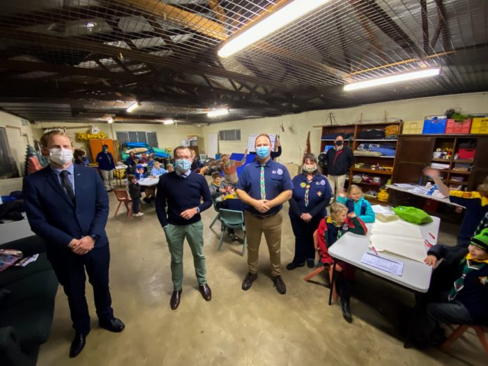 $58,000 'SECURES' ARMIDALE SCOUT HALL FOR FUTURE GENERATIONS