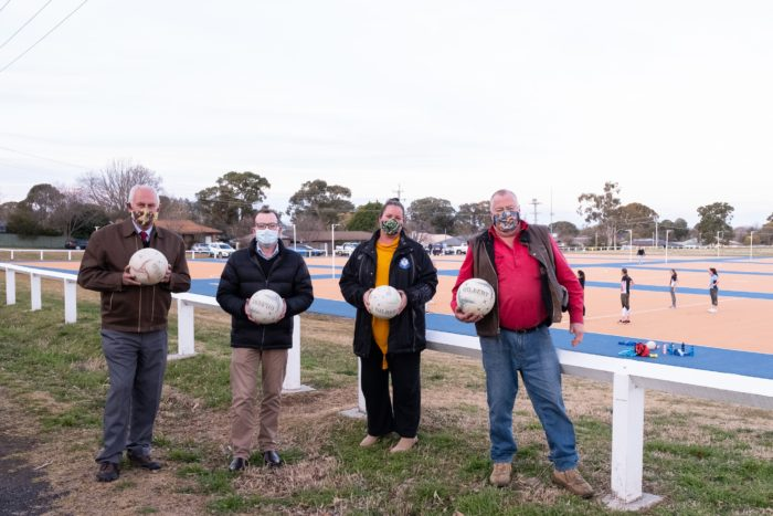 $350,000 GRANT TO PUT ARMIDALE DISTRICT NETBALLERS UNDER LIGHTS