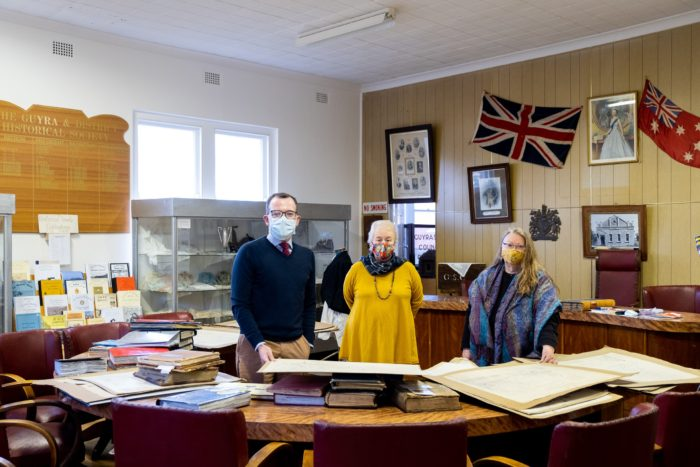$5,636 DELIVERS MODERN MUSEUM FOR GUYRA & DISTRICT HISTORICAL SOCIETY
