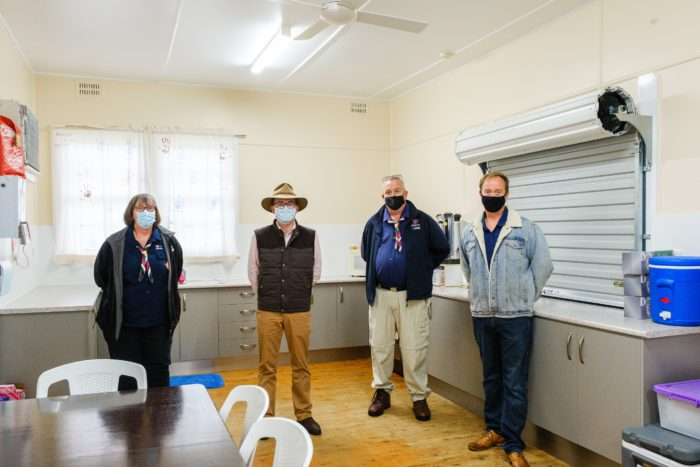 $31,000 'SECURES' REFURBISHMENT OF INVERELL SCOUT HALL