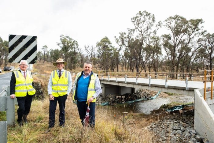 $1 MILLION TOLLEYS GULLY BRIDGE REPLACEMENT NEARING COMPLETION