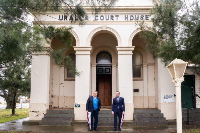 $925,000 TO REFURBISH 132-YEAR-OLD FORMER URALLA COURT HOUSE