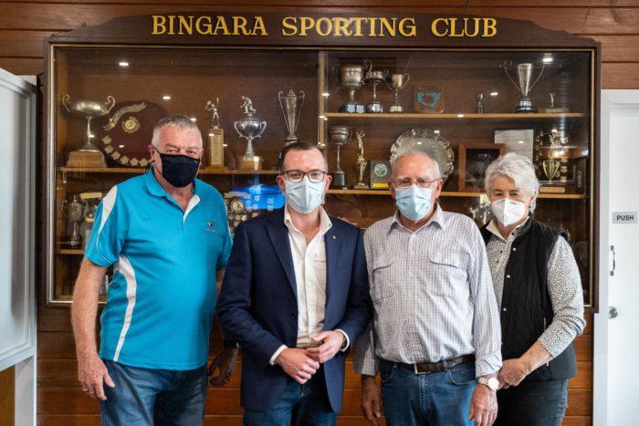 NEW-LOOK BINGARA SPORTING CLUB REFURBISHMENT WORKS COMPLETE