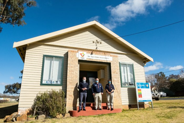 $47,000 TO INSTALL NEW DISABLED AMENITIES AT GLEN INNES SCOUT HALL