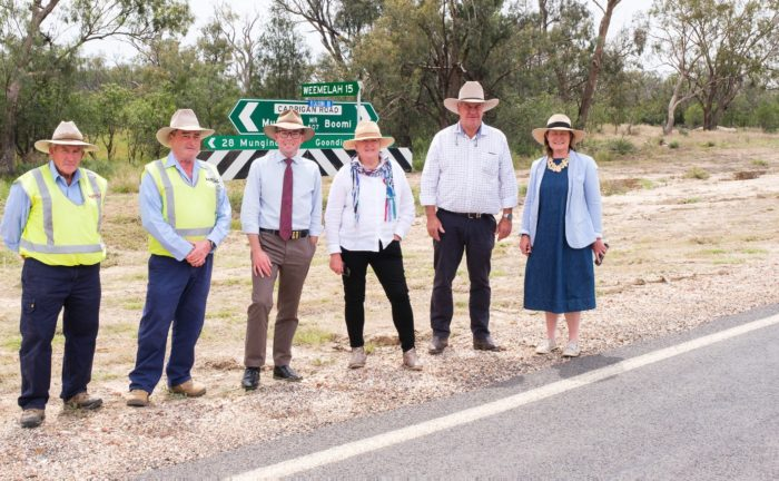 $15.2 MILLION FULLY-SEALED CARRIGAN ROAD NOW FIT FOR FREIGHT