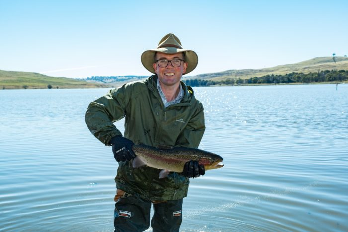 NO TROUT ABOUT IT: SEASON OPENS IN TIME FOR RED-HOT FISHING